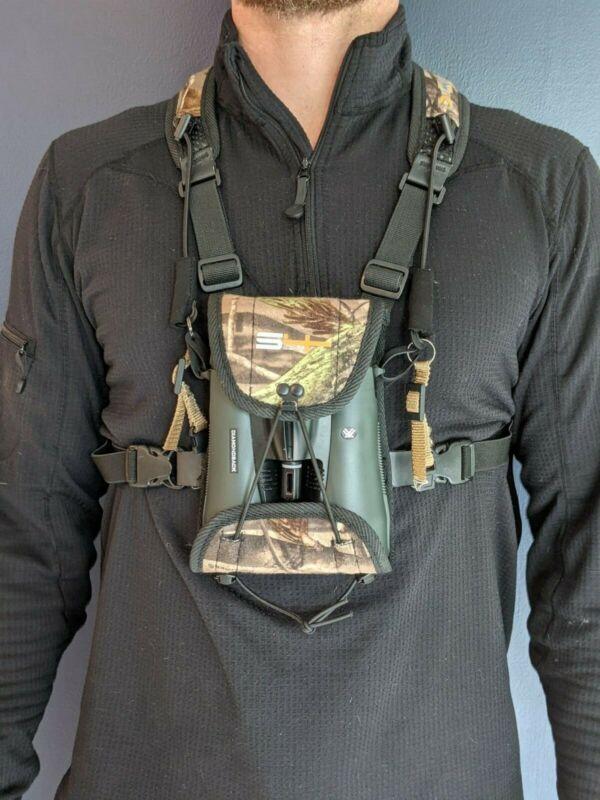 S4 Gear, Lockdown X Binocular Harness, RealTree Camo, Used/Great Condition