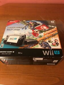 Wii U with games included.