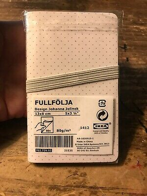 Ikea 5 By 3-14 Notebook Writing Pad Fullfolja Design By Jelinek