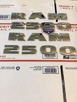 Dodge Ram (RAM 2500) 2014-16 TWO- Door Emblems