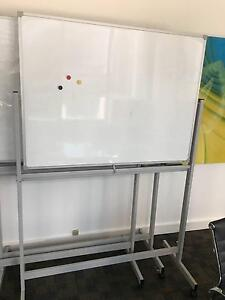 Mobile Whiteboard Magnetic Whiteboard Double Sided North Sydney North Sydney Area Preview