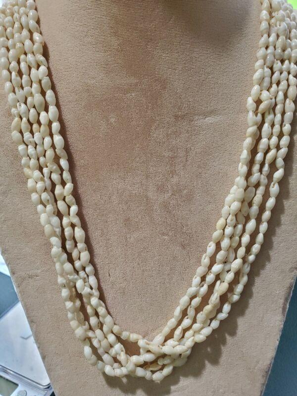 Vintage Hawaiian original Niihau Shell Necklace