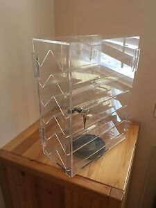 Spinning Clear Acrylic Display Case