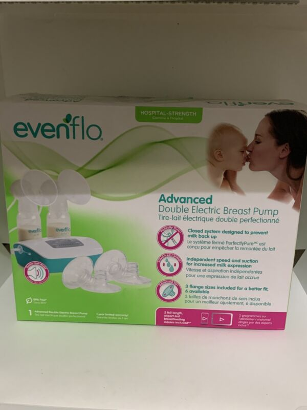 Evenflo Advanced Double Electric Breast Pump - Used, Sterilized