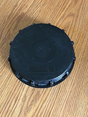 Black 275-330 Gallon Ibc Tote Tank Cover Lid Cap For Schutz Mauser. Us Seller