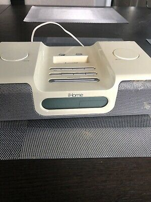 iHome Ih5 Alarm Clock Radio Apple iPod Home System