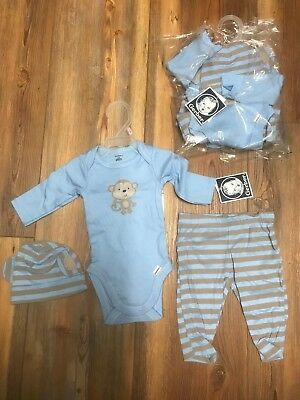 Baby Monkey Outfit (2 total sets Gerber Baby Boys each 3 Piece Outfit Size 0-3 Months Monkey)