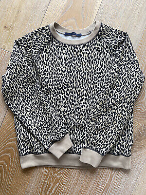 House of Hackney Leopard Print Sweatshirt Size M