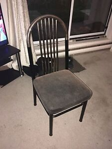 3 black and gold chairs  Kingston Kingston Area image 1
