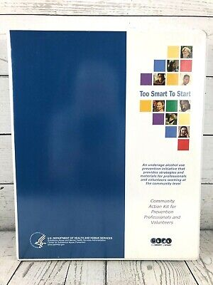 Too Smart To Start Underage Substance Abuse Prevention Kit Community Action Kit - Too Smart To Start