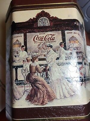 Vintage Coca Cola Canister
