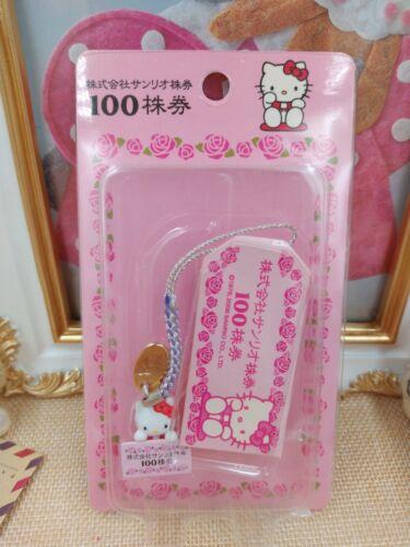 Sanrio Hello Kitty Keychain Strap Mobile Phone Rose Pink Keychain Strap Japan