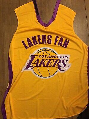 NBA Lakers Fan Cape 10/31/2017 home game giveaway Halloween game lakers Nike adi - Halloween 31 2017