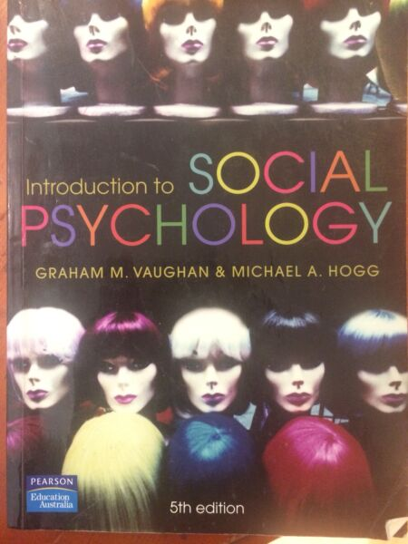 Social psychology textbook vaughan hogg textbooks gumtree social psychology textbook vaughan hogg fandeluxe Image collections
