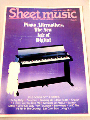 Sheet Music Magazine Piano Alternatives The New Age of Digital Guitar Vocal - New Age Piano Sheet Music