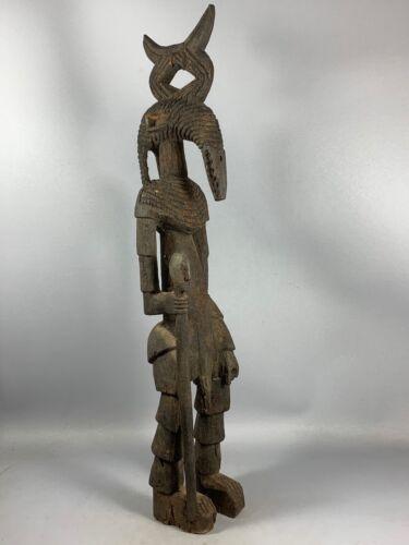 210151 - Rare & Old Tribal used Senufo Caryatid statue - Iv. Coast