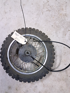 Suzuki jr50 front rim and hub 1984 Abermain Cessnock Area Preview