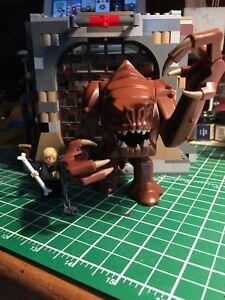 Star Wars Lego Rancor with Luke Skywalker