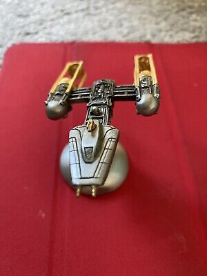 Star Wars Y- Wing Rawcliffe Pewter Statue Model
