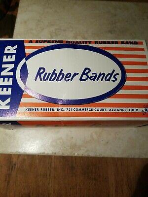 Alliance Big Bands Rubber Bands 7 X 58 Red Wide Vintage