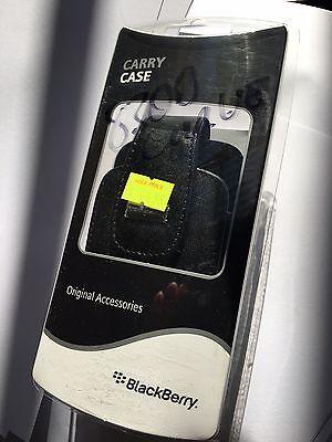 BlackBerry Leather Swivel Holster with Belt Clip for 8300 Curve BBY-CB83 Genuine Blackberry Curve Swivel Holster