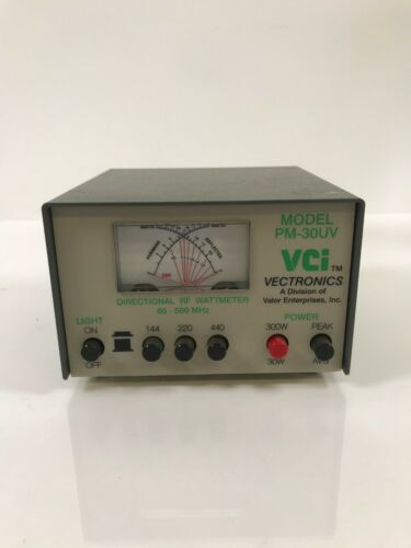 Vectronics PM-30UV DIRECTIONAL RF WATTMETER