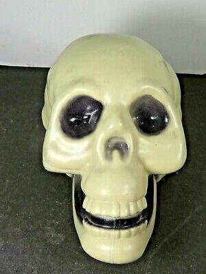 Blow Mold Skeleton Skull Halloween Decoration Spooky Ghoul B513