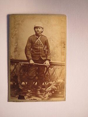 Grahams Town Südafrika - 1884 - Max Dreißig Gendarm Corporal Cape Corps 2 CDV