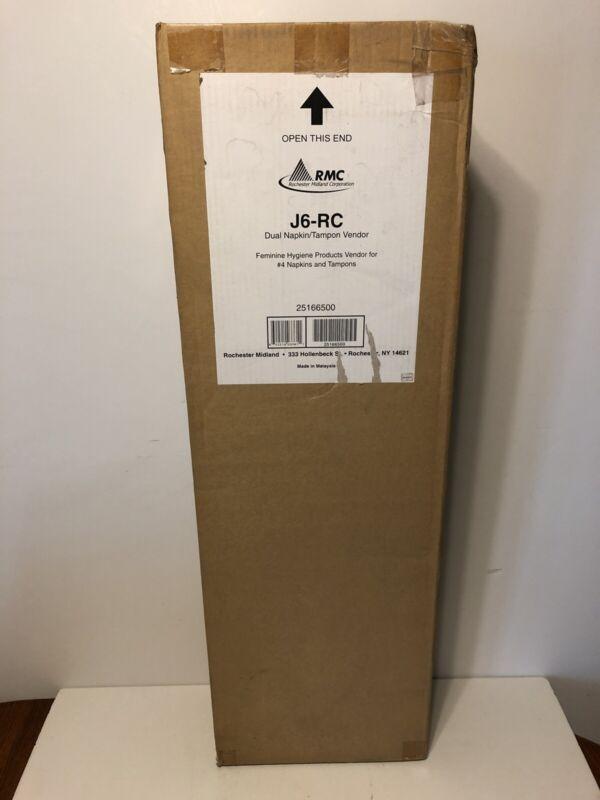 J6-RC 25166500 DUAL NAPKIN/TAMPON VENDOR FEMININE HYGIENE ROCHESTER MIDLAND