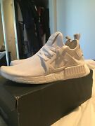 Adidas NMD XR1 triple white  Dakabin Pine Rivers Area Preview