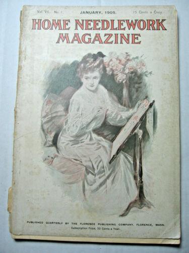 January 1905 Home Needlework Magazine