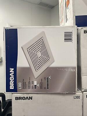 Broan-nutone L300 High Capacity Ventilator Fan Commercial Exhaust Fan W Duct