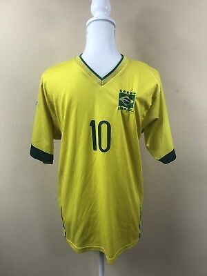 Soccer Jersey Kaka Fortaleza Brasil Ceara Futbol Mens Medium De Bola 10 Esporte image