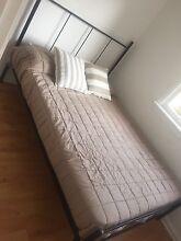 Queen Slat Bed & Queen Mattress Newport Pittwater Area Preview