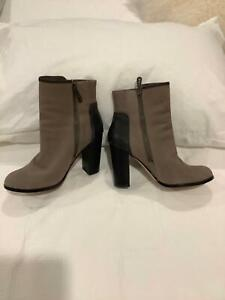 Mimco grey ankle boots