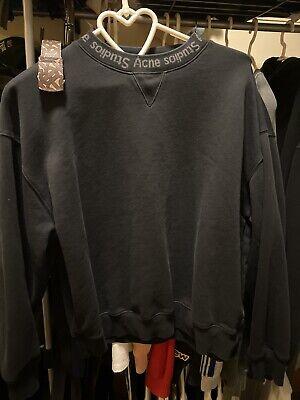 Acne Studios Flogho Crewneck Sweatshirt