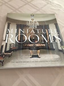 Miniature Rooms Book.... NEW