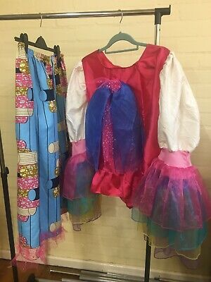 Cinderella Couple Costume (Pair Dames Costumes Ugly  Sisters Cinderella)
