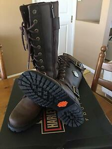 Harley Davidson Limited Edition Women's Motorcycle Boots Laidley Heights Lockyer Valley Preview
