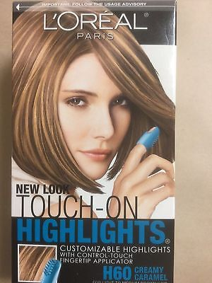 Caramel Brown (L'Oreal Touch-On Highlights #H60 Creamy Caramel Light To Medium Brown Hair)