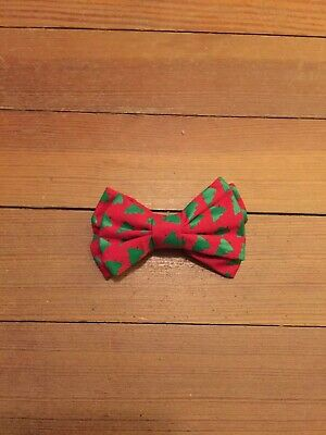 Christmas Tree Red Green Bow Tie Toddler (Boy Red Green)