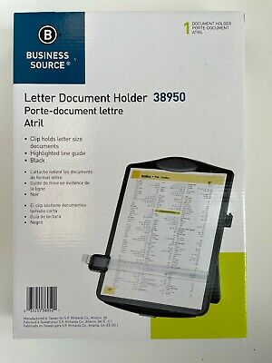 Business Source Easel Document Holder 38950 Clip Hold Letter Size Document