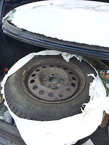 Winter tyres with rims Edmonton Edmonton Area image 4