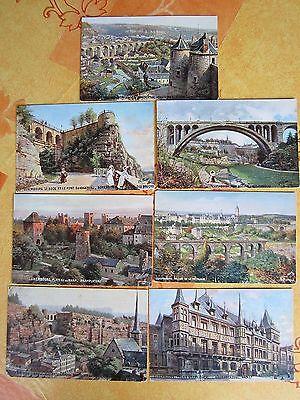 NR. 751 / 7 Stück Postkarten Luxembourg Tuck´s Postkarte  Nr. 737 *** +-1915