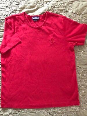 Enron Logo Vintage Authentic Women's Lands' End Shirt Size Medium 10-12