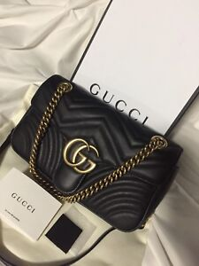 Gucci Small Marmont Flap Bag