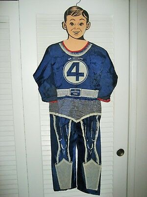 Mr Fantastic Costume (Rare 1967 Ben Cooper Marvel Comics Mr. Fantastic 4 Costume -)