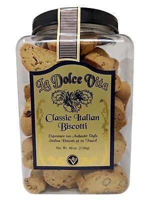La Dolce Vita Classic Italian Biscotti 40 OZ