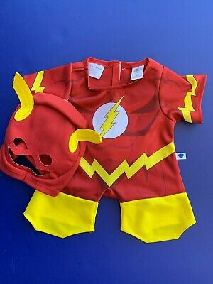 Build a Bear Teddy Bear Clothing - 2 pc. Flash Costume - NEW](Cheap Bear Costume)