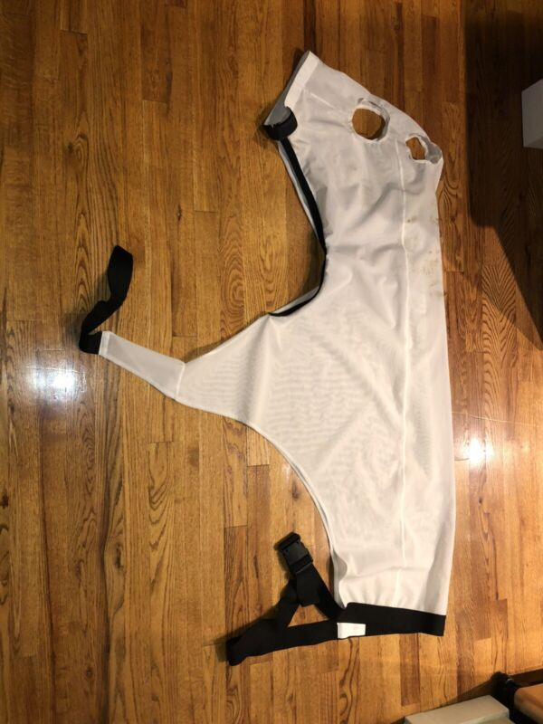 Large Kool Mesh Zipper Horse Sleazy Slinky For Warm Weather, Great Condition